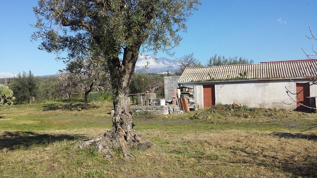 Villetta con ampio terreno pressi Etnapolis